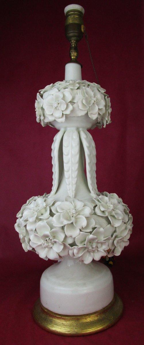 Vintage Manises Keramiklampe von CH Hispania