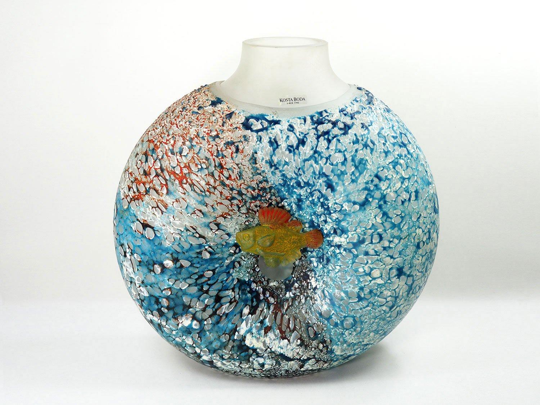 Large Reef Vase By By Kjell Engman For Kosta Boda 2002