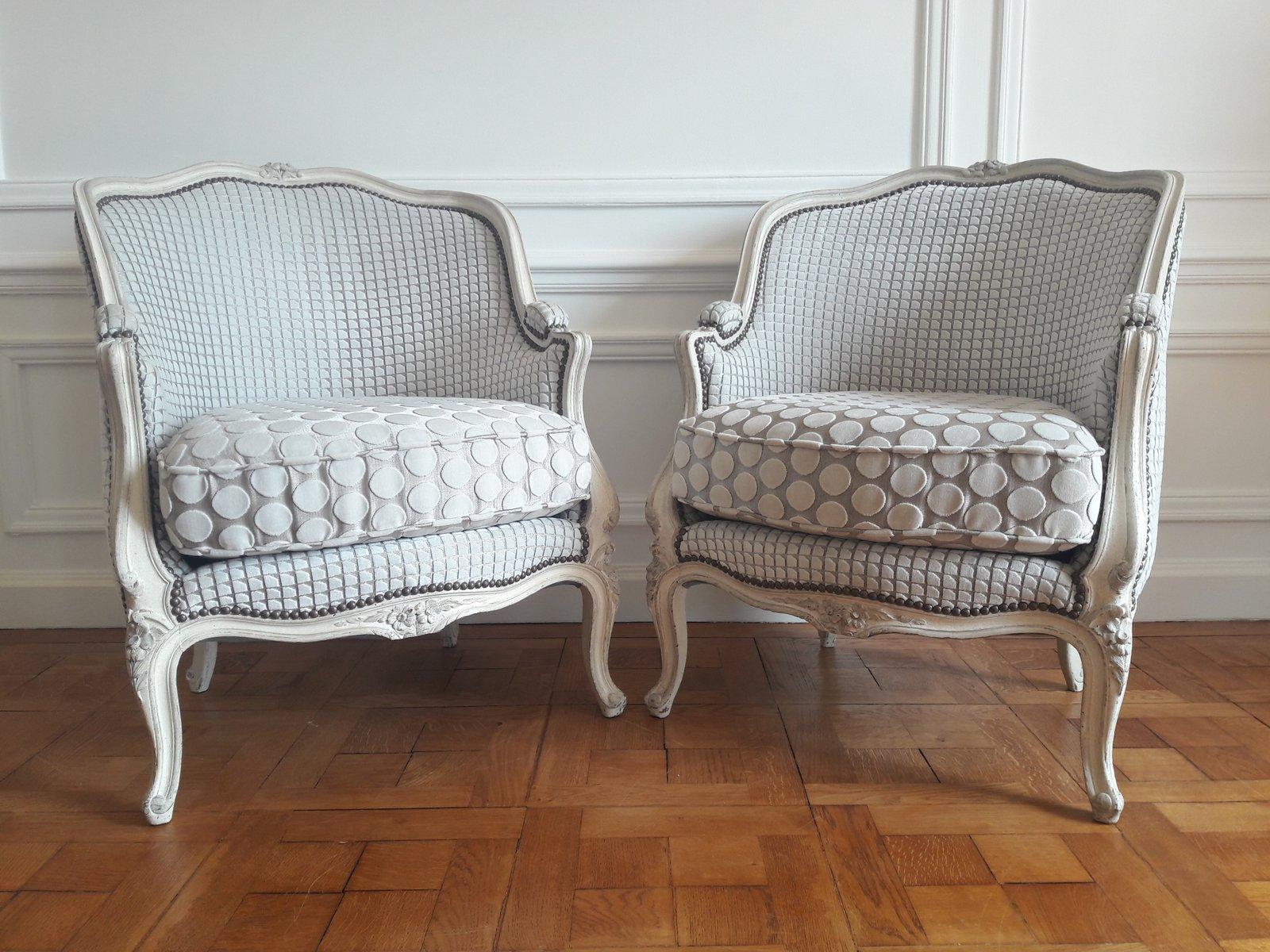 Antike Sessel im Louis XVI-Stil, 2er Set