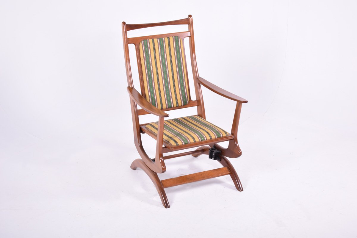 Picture of: Danish Teak Rocking Chair 1950s For Sale At Pamono