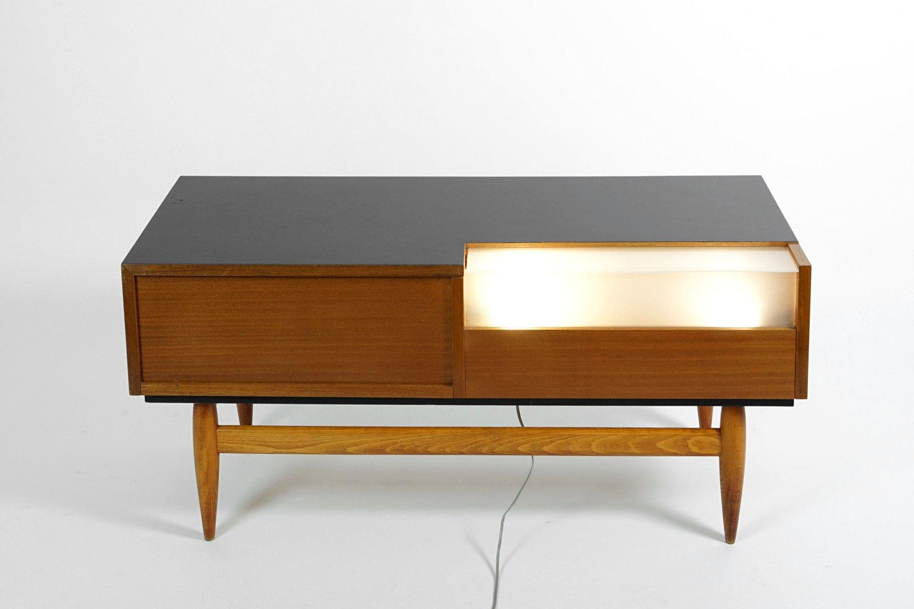 mid century tv sideboard von miroslav navratil f r uluv. Black Bedroom Furniture Sets. Home Design Ideas