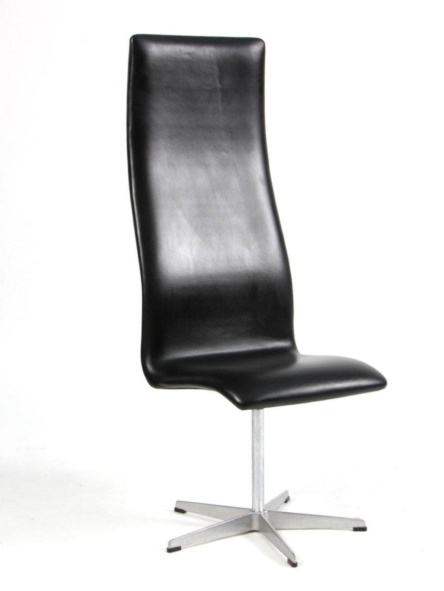 oxford stuhl von arne jacobsen f r fritz hansen 1975 bei. Black Bedroom Furniture Sets. Home Design Ideas