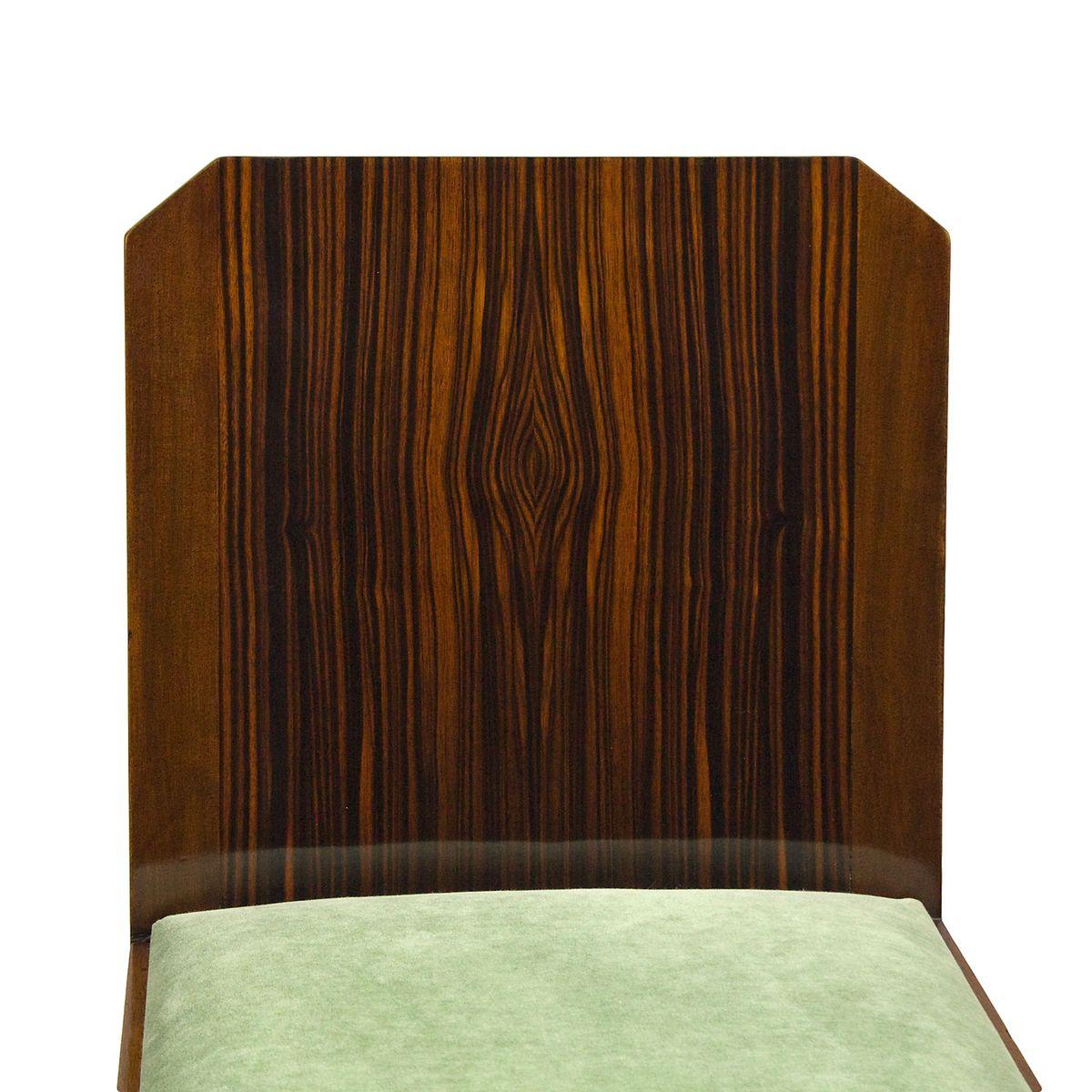 Vintage Art Deco Stühle 1930er 6er Set Bei Pamono Kaufen