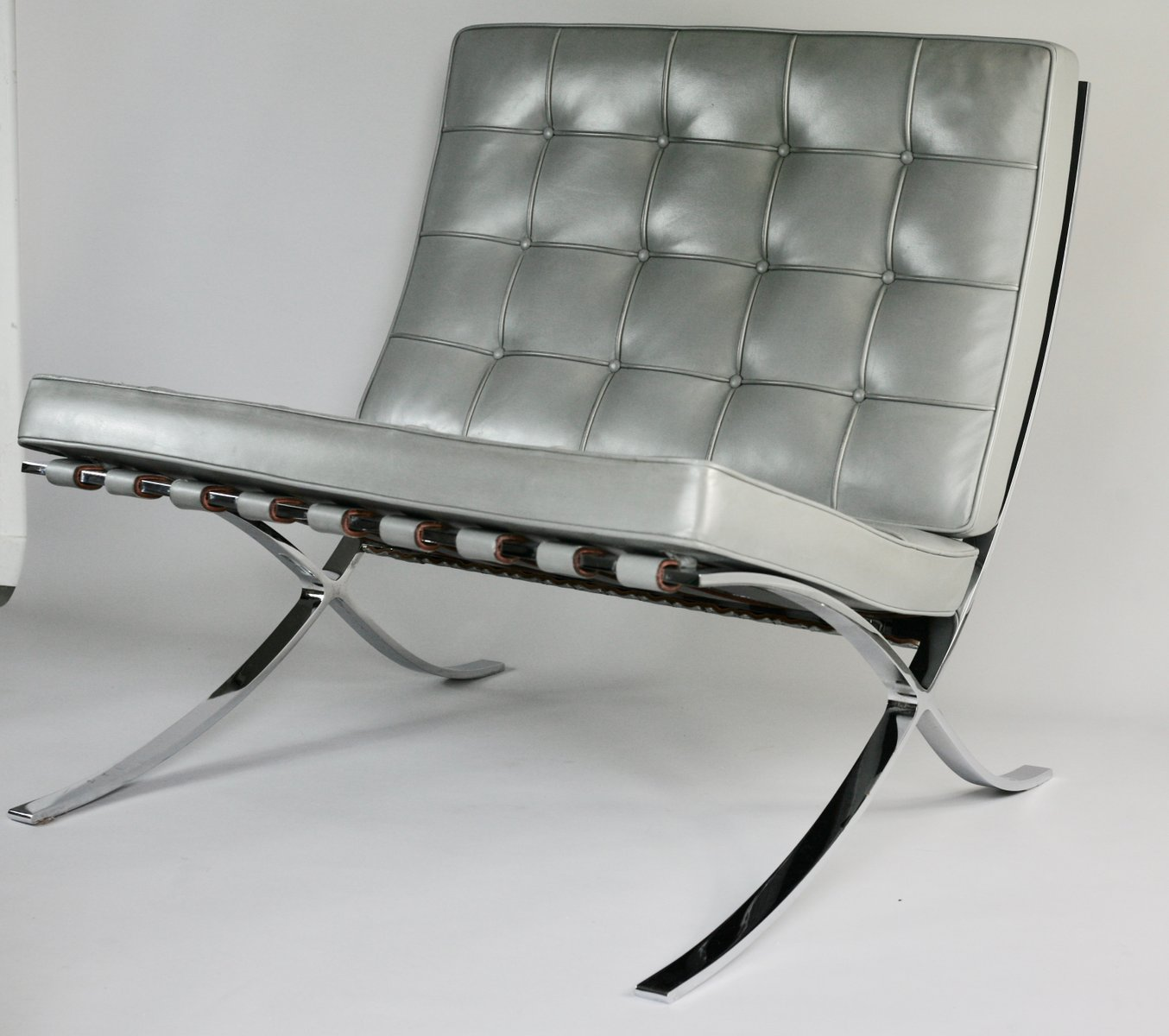 Barcelona Lounge Chair By Mies Van Der Rohe For Knoll