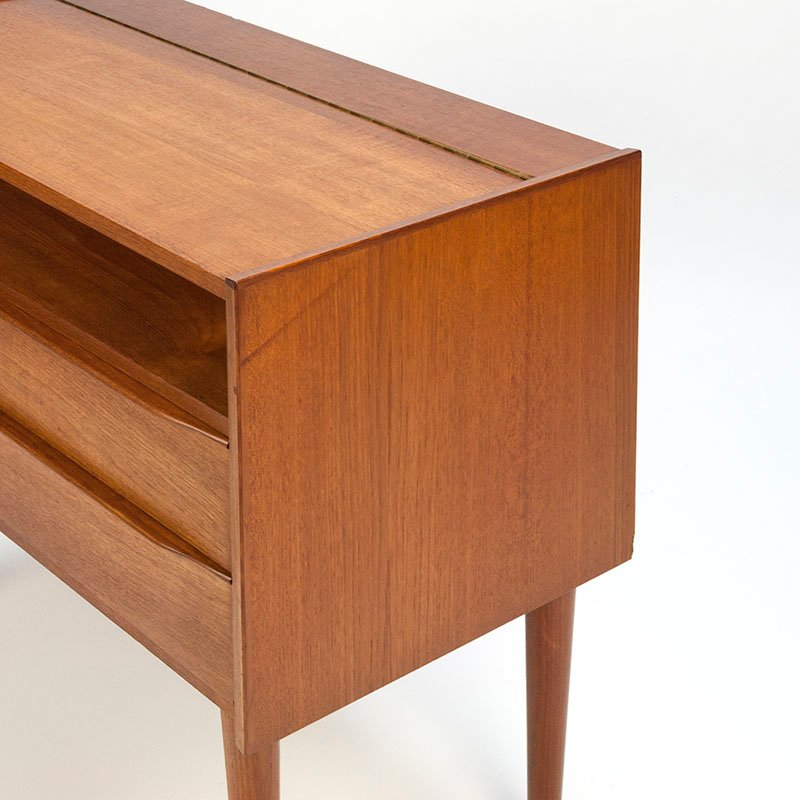 d nischer vintage frisiertisch mit spiegel bei pamono kaufen. Black Bedroom Furniture Sets. Home Design Ideas