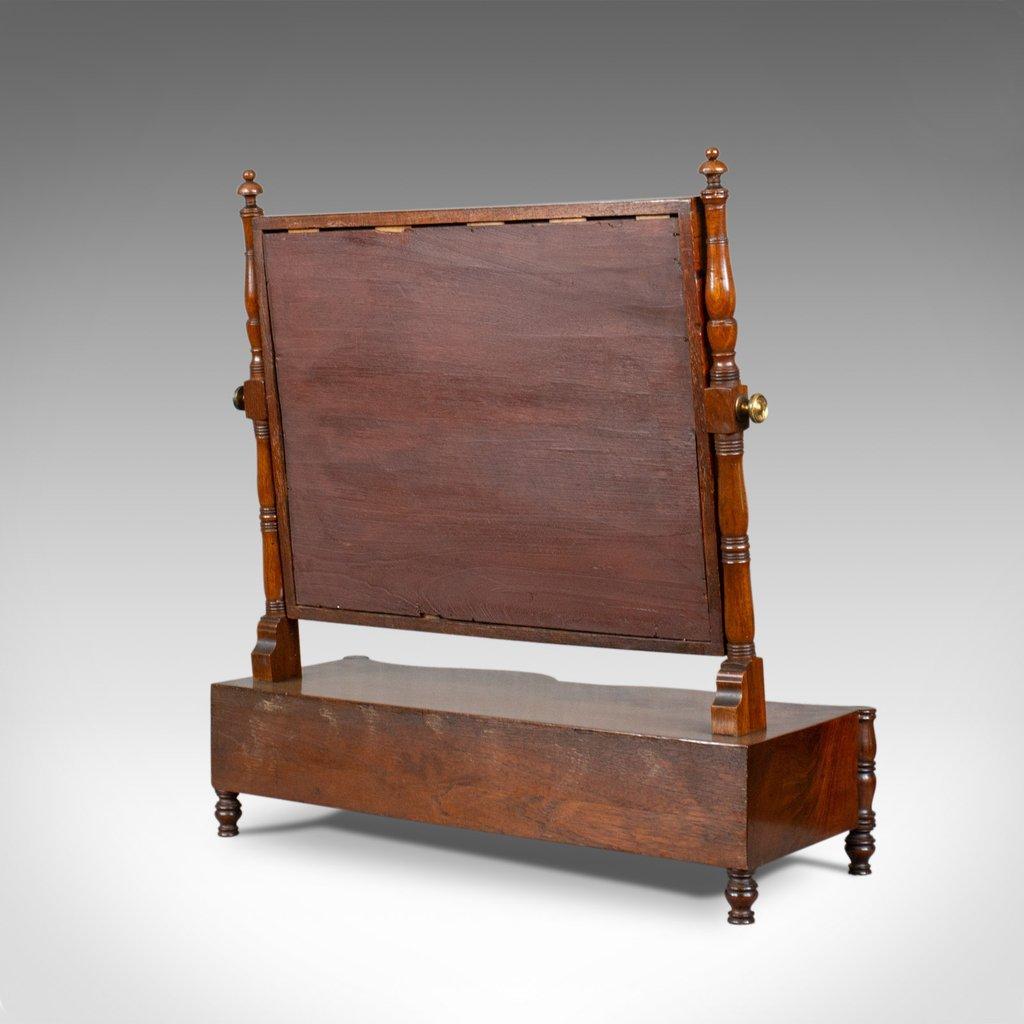 antiker frisiertisch aus mahagoni mit spiegel 1890er bei. Black Bedroom Furniture Sets. Home Design Ideas