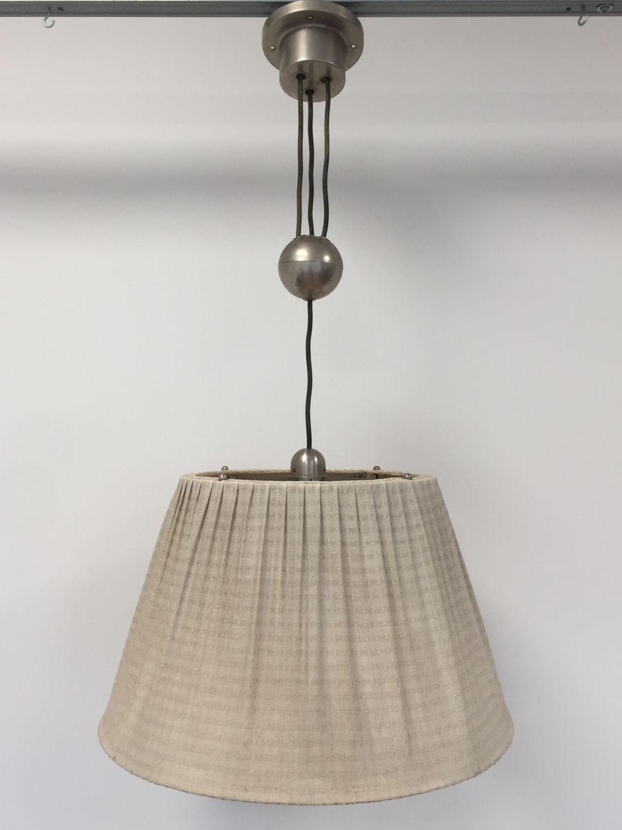 Höhenverstellbare niederländische Vintage Modell Giso Lampe von Gispen