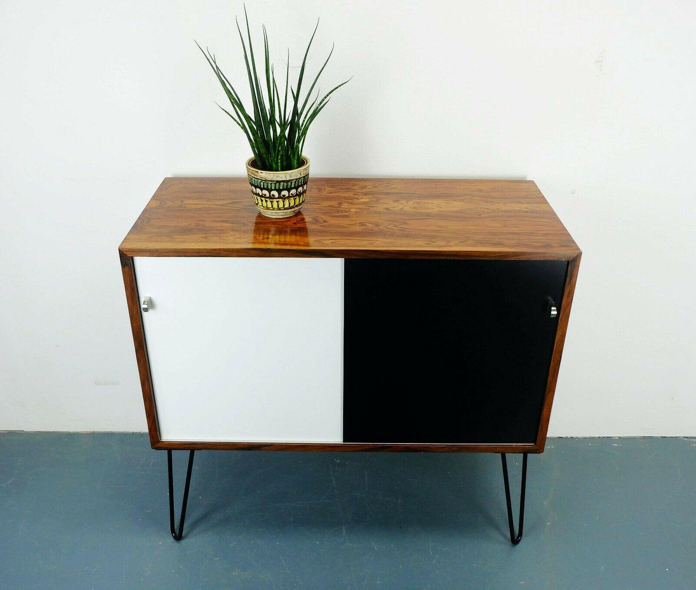 deutsche mid century kommode aus palisander 1960er bei. Black Bedroom Furniture Sets. Home Design Ideas