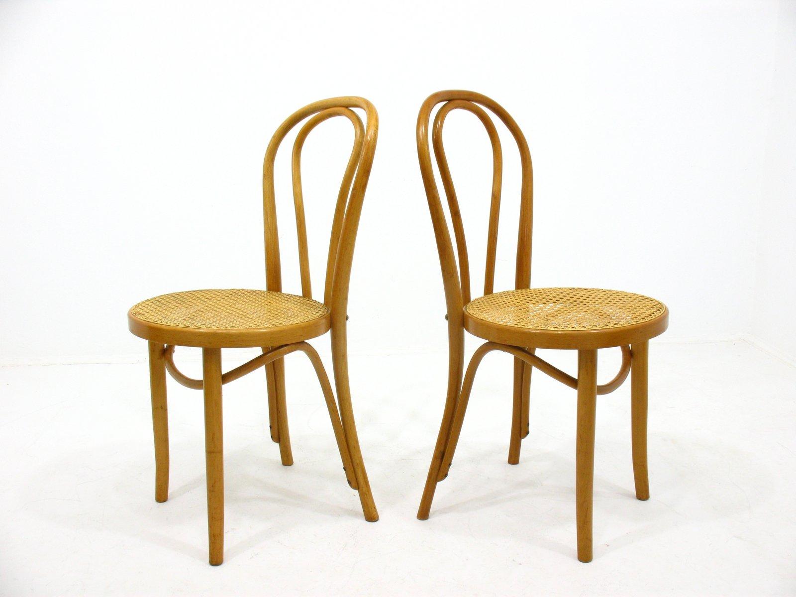 Sedie vintage in legno, anni '70, set di 2 in vendita su ...