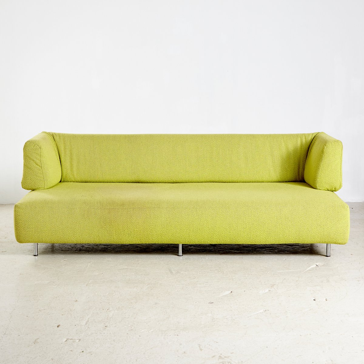 Man And Woman Lime Sofa By Francesco