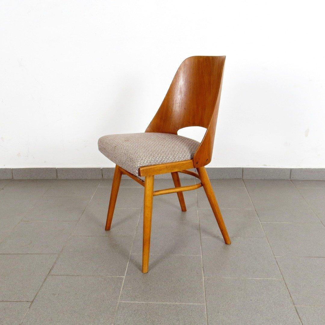 Sedie da pranzo vintage in legno, anni '60, set di 4 in ...