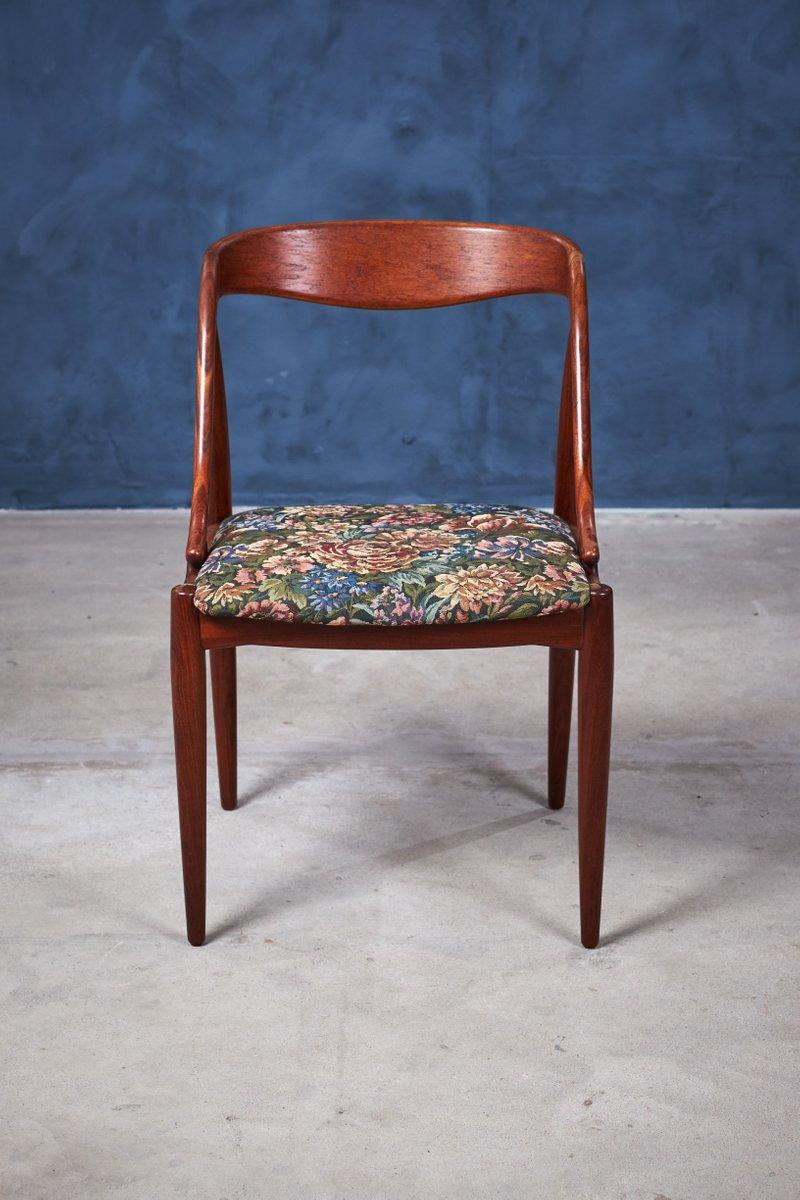 Danish Teak Dining Chairs By Johannes Andersen 1950s Set