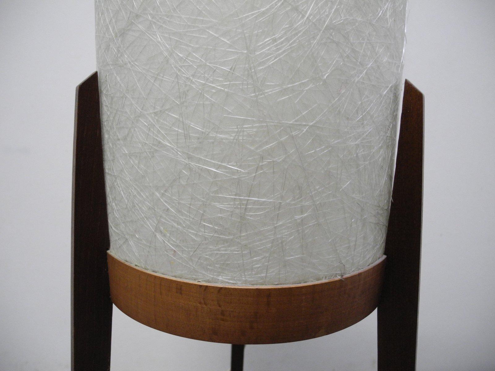 Mid Century Teak Tripod Floor Lamp 1960s For Sale At Pamono