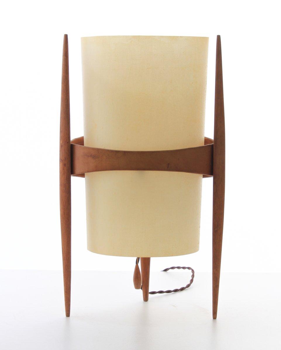 Pleasing Leather Oak Table Lamp By Krasna Jizba For Uluv 1950S Creativecarmelina Interior Chair Design Creativecarmelinacom