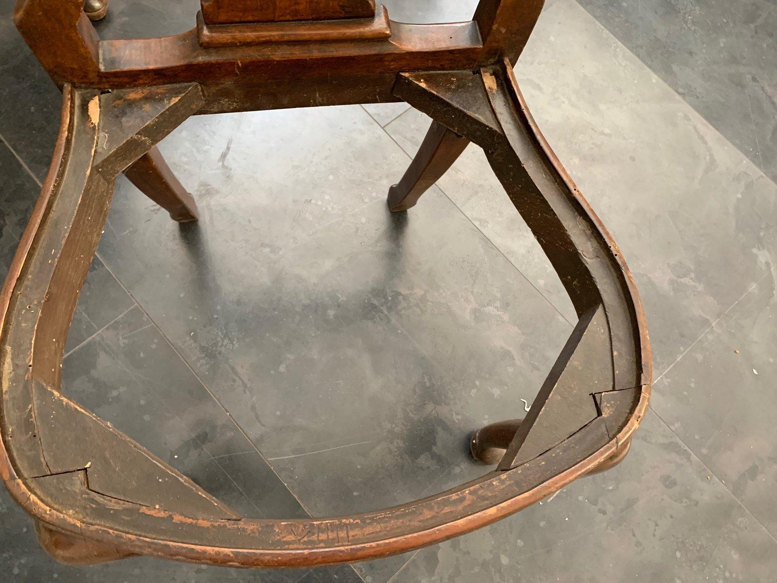 Antike Chippendale Stühle 1800er 4er Set Bei Pamono Kaufen