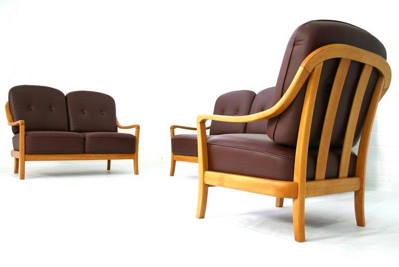 d nische vintage sessel und sofa von komfort bei pamono kaufen. Black Bedroom Furniture Sets. Home Design Ideas