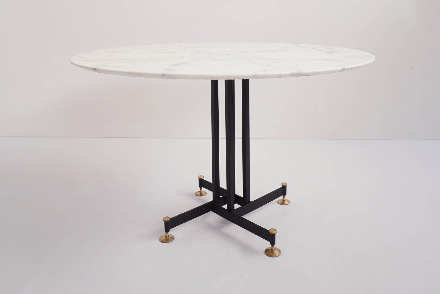 Tavolo da pranzo in marmo Calacatta di Ignazio Gardella ...