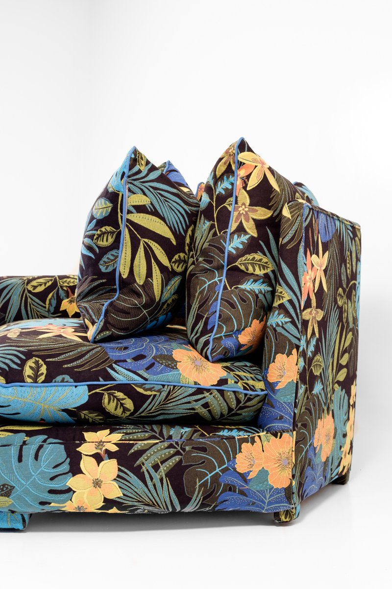 Cha-Cha Home Collection Sofa in Jungle by Night Stoff von ...