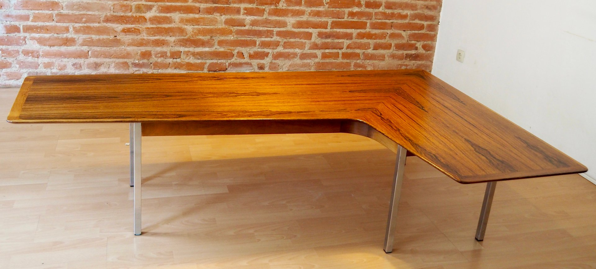 - Rosewood Boomerang Coffee Table, 1960s For Sale At Pamono