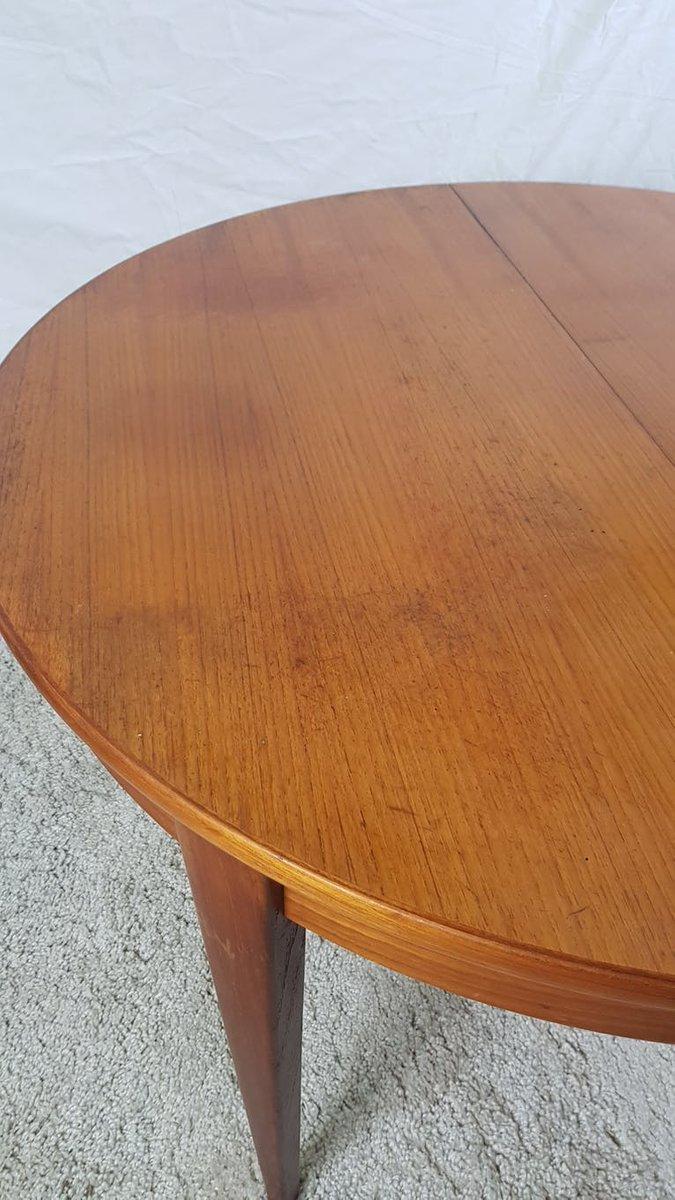Table De Salle à Manger Extensible Vintage En Vente Sur Pamono