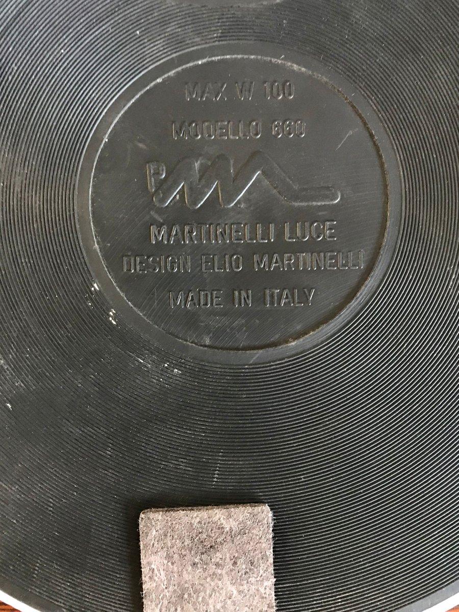 Lampada Da Tavolo Vintage Di Elio Martinelli Per Martinelli Luce In Vendita Su Pamono