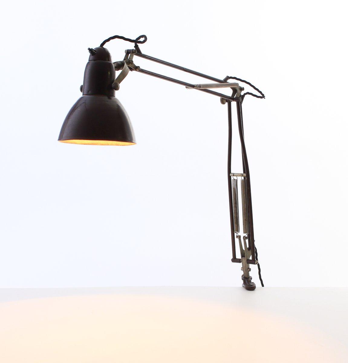 Lampada Da Tavolo Industriale Di Napako Anni 30 In Vendita Su Pamono