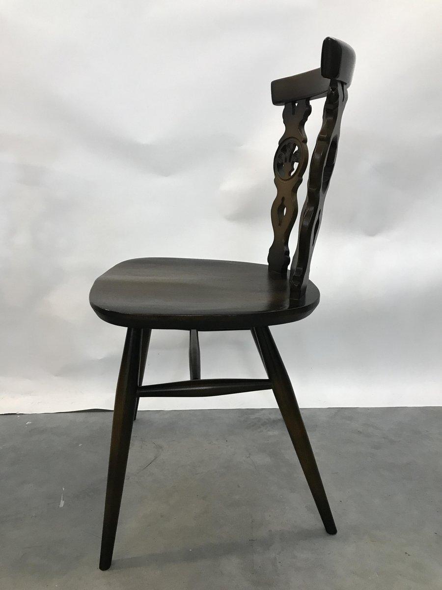 Esstisch & Stühle Von Lucian Ercolani Für Ercol 1979 Bei