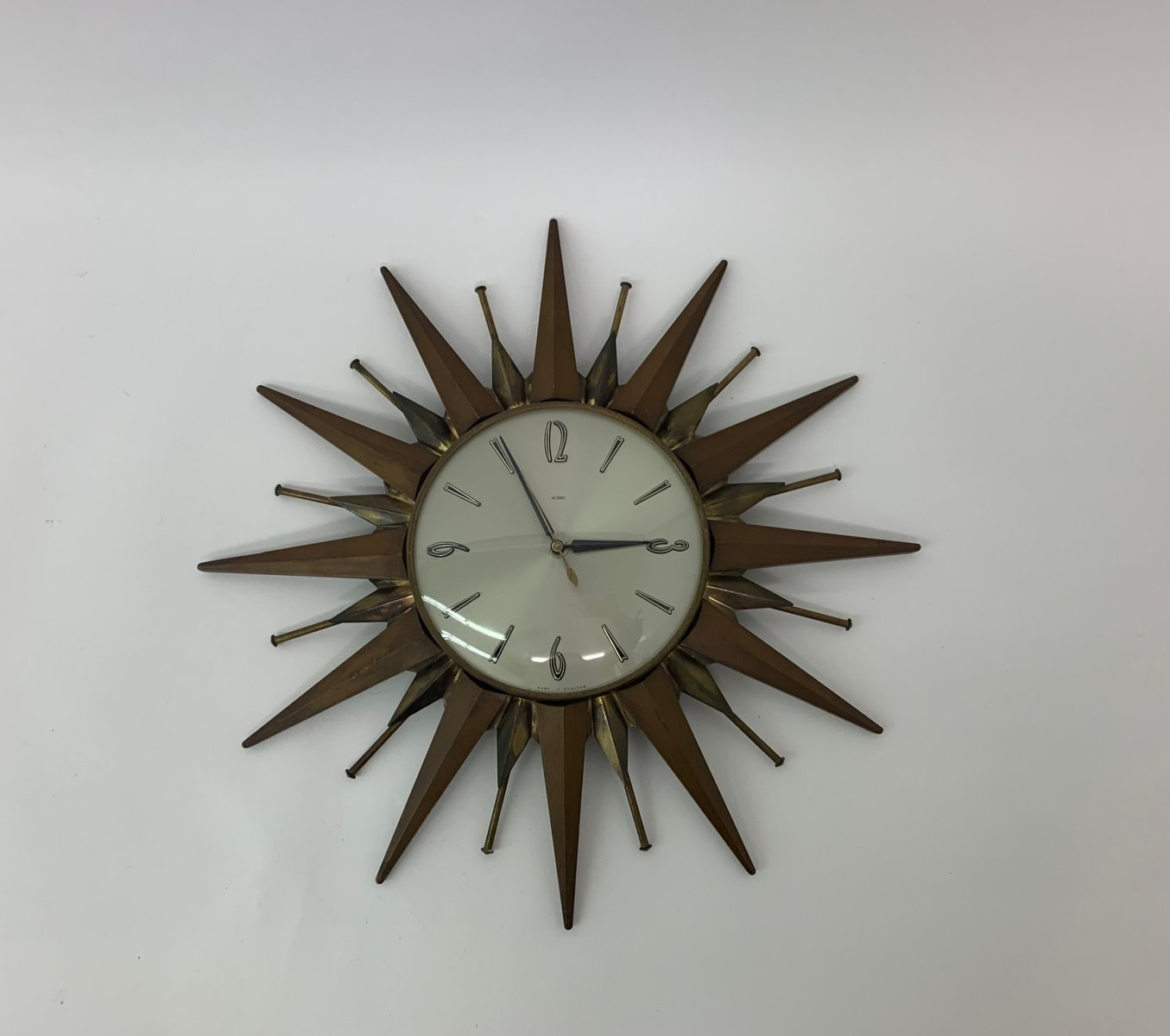 Mid Century Clock From Metamec For Sale At Pamono