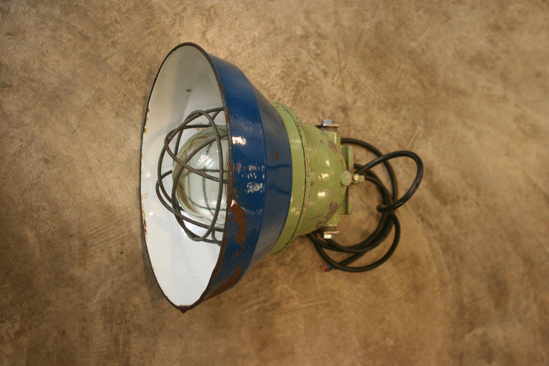 Industrie Lampe von Pan Electric Mediterranea, 1970er