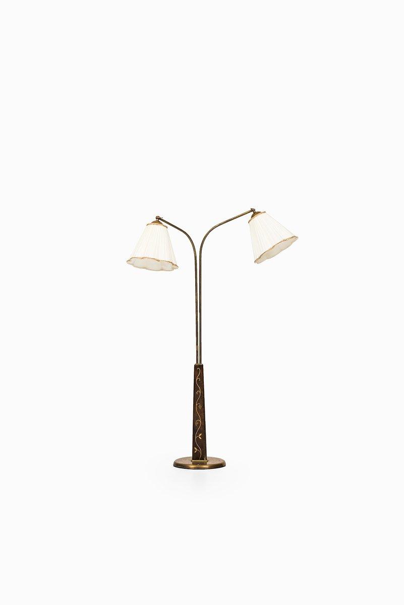 Schwedische Mid Century Stehlampe