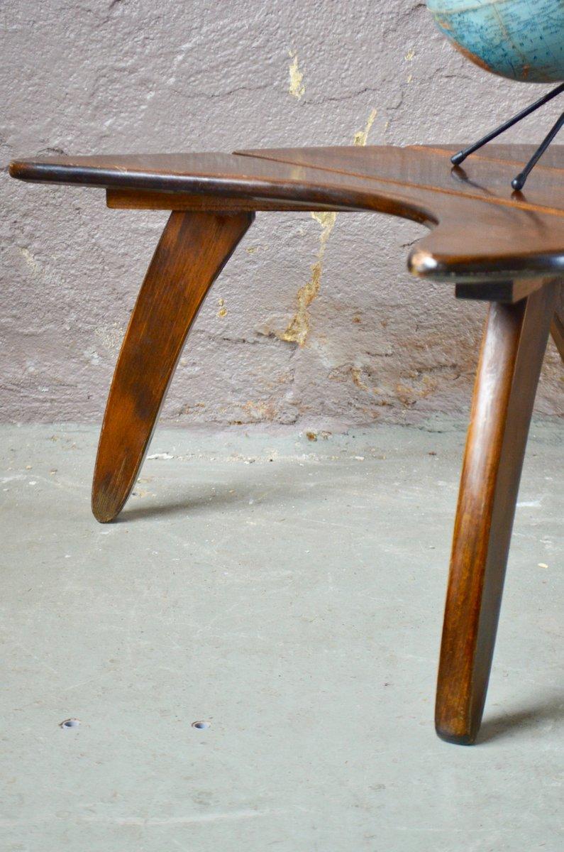 Table D'Appoint En Demi-Lune, 1950s En Vente Sur Pamono