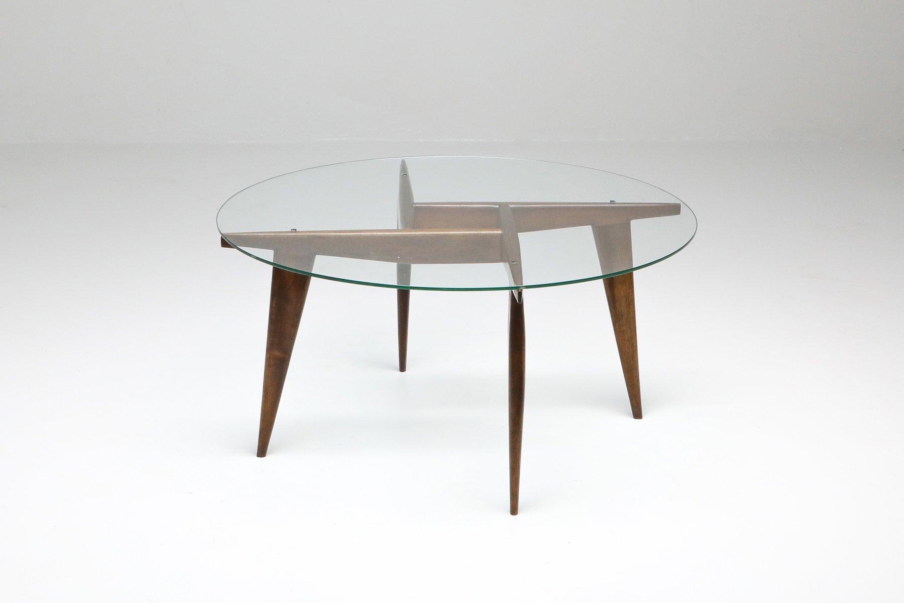 Coffee Table By Gio Ponti For Singer Sons 1950s For Sale At Pamono [ 1200 x 1800 Pixel ]