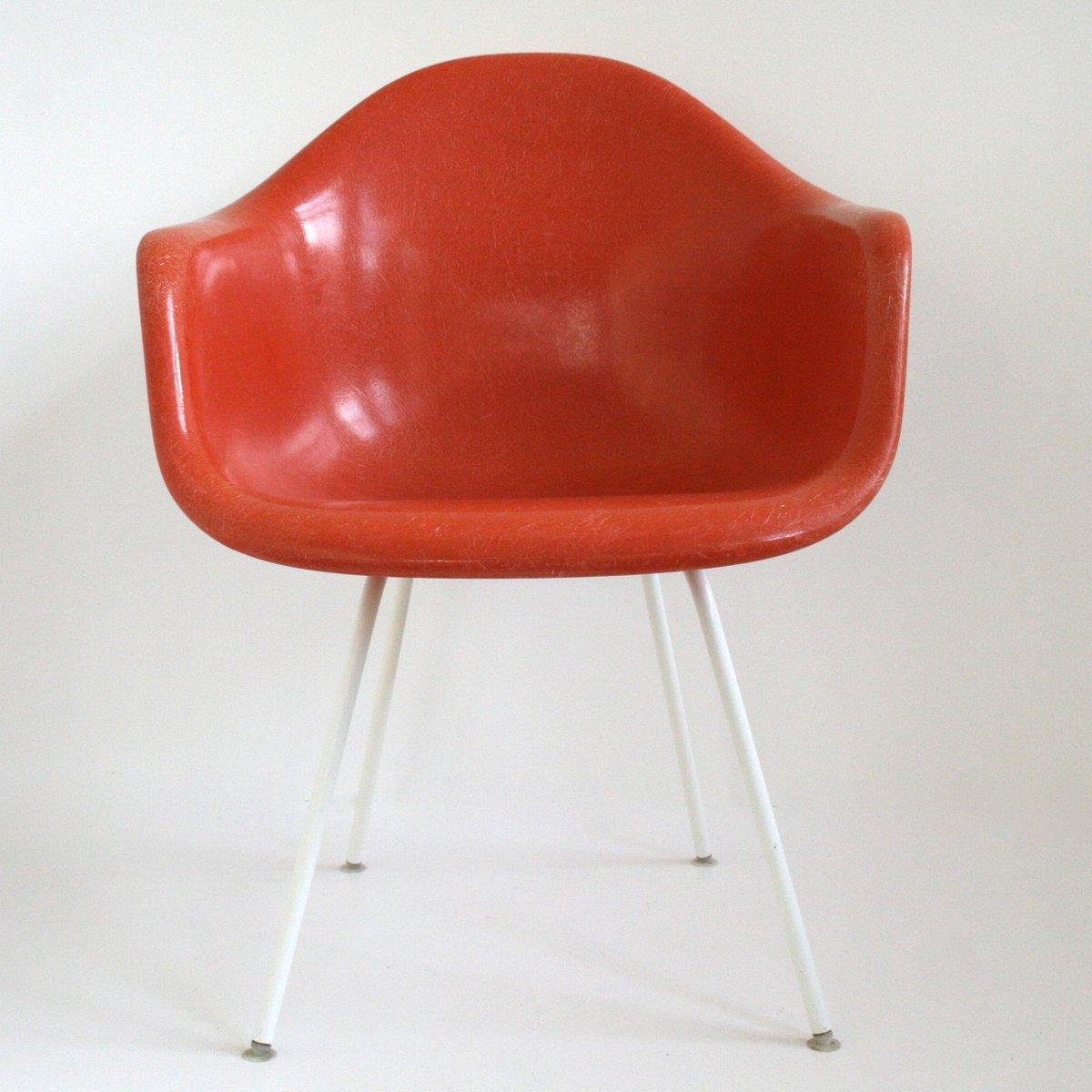 Sedie DAX a conchiglia di Charles Eames per Vitra, anni \'50, set di ...