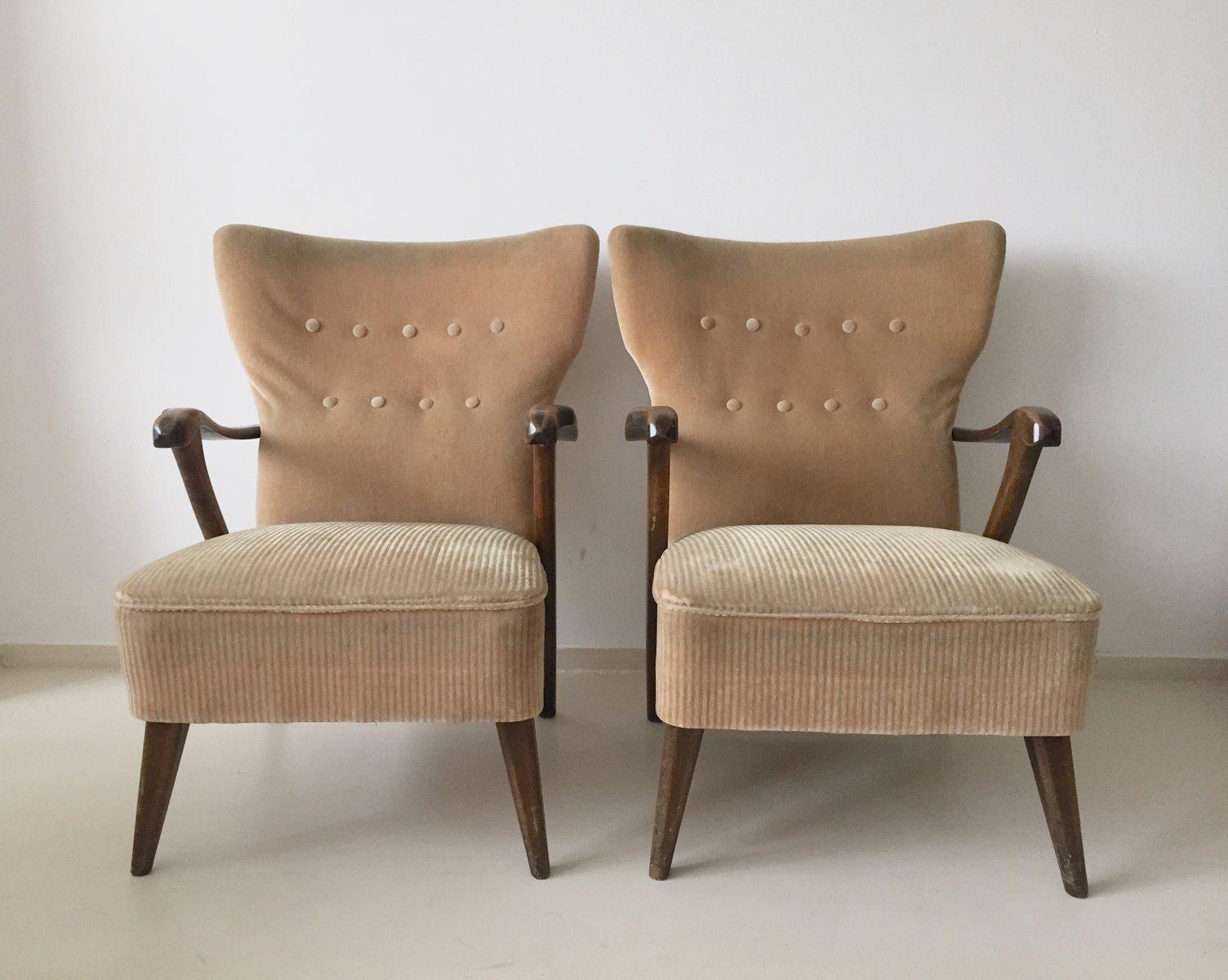 Vintage Lounge Stühle von A.A. Patijn für Zijlstra Jour, 2er Set