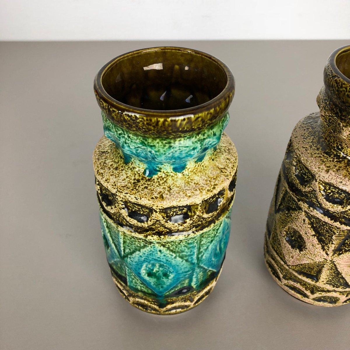West Germany Bay Keramik vase number 92-20