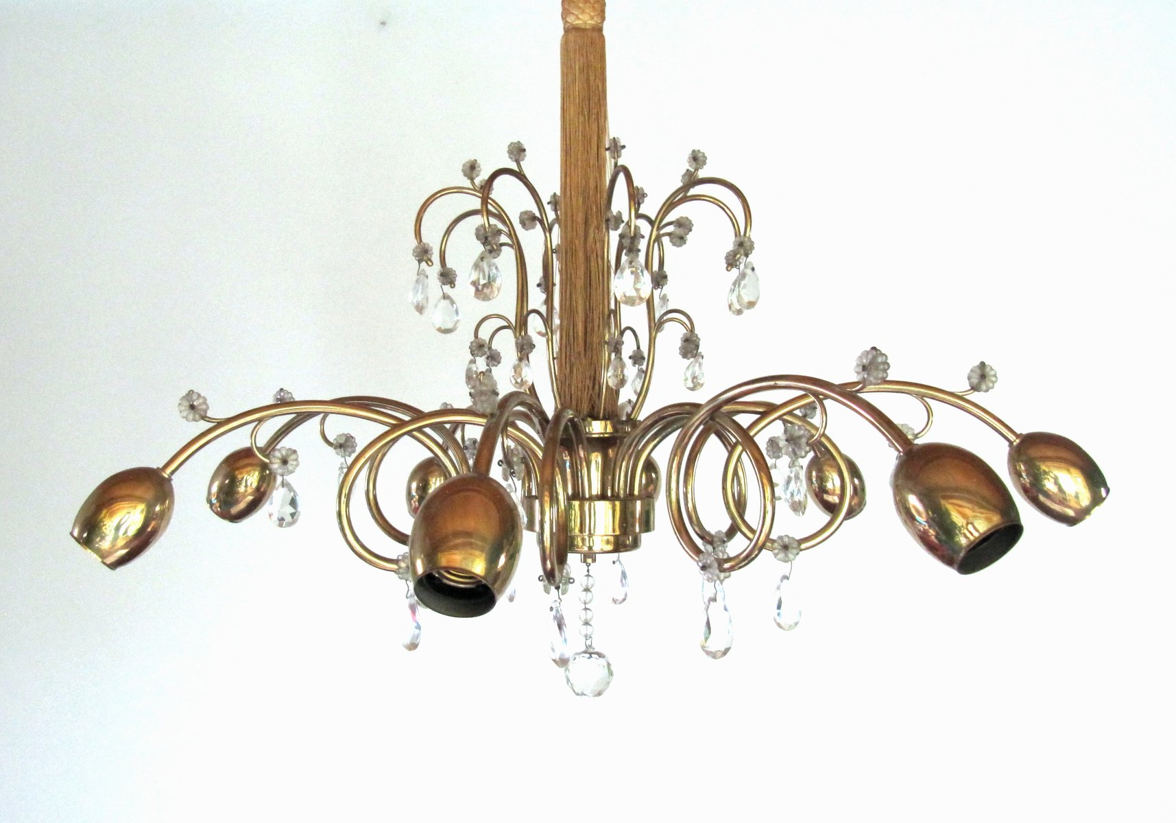 Large austrian art deco chandelier from jl lobmeyr for sale at pamono price per piece aloadofball Image collections