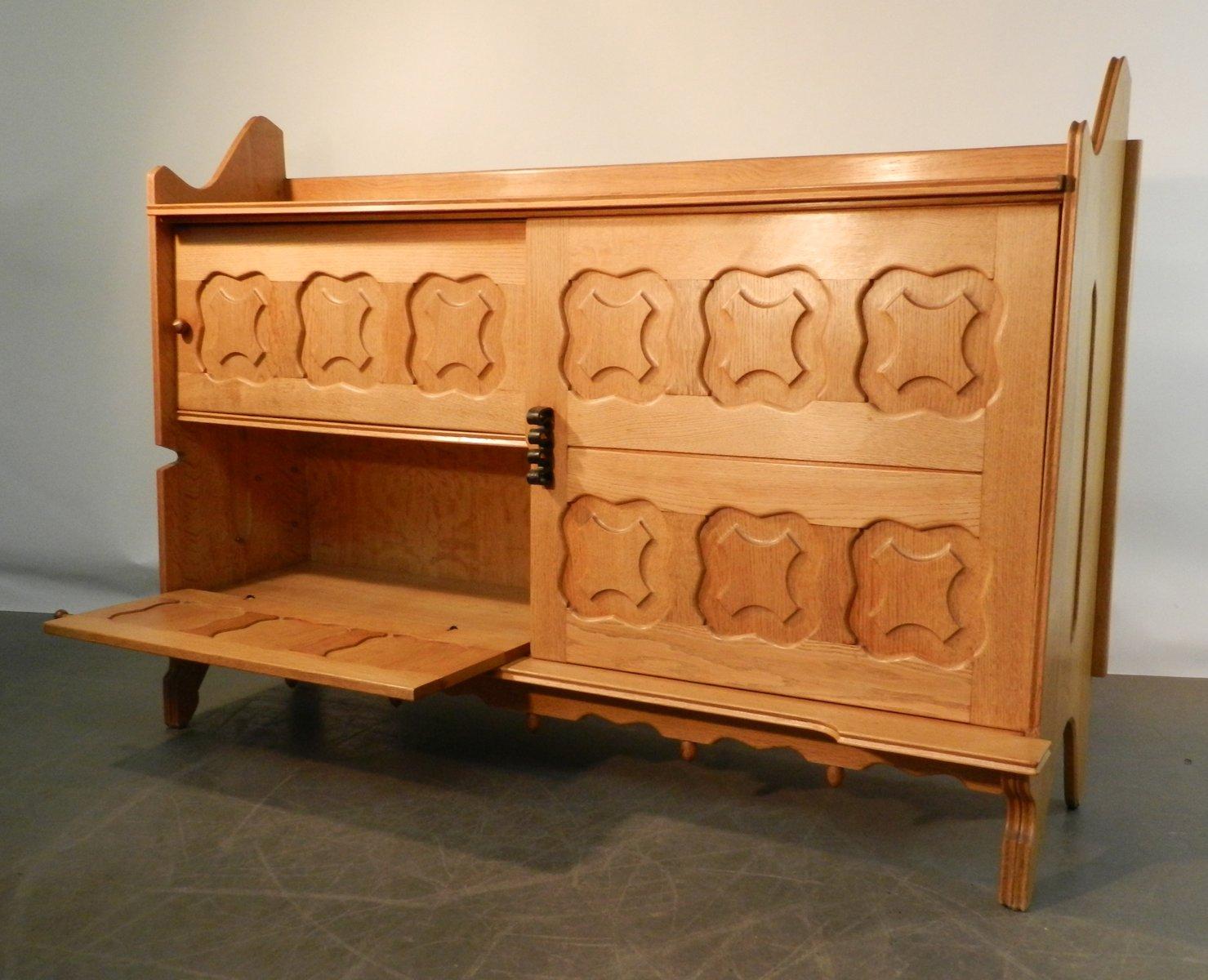 dario sideboard von guillerme chambron f r votre maison 1960er bei pamono kaufen. Black Bedroom Furniture Sets. Home Design Ideas
