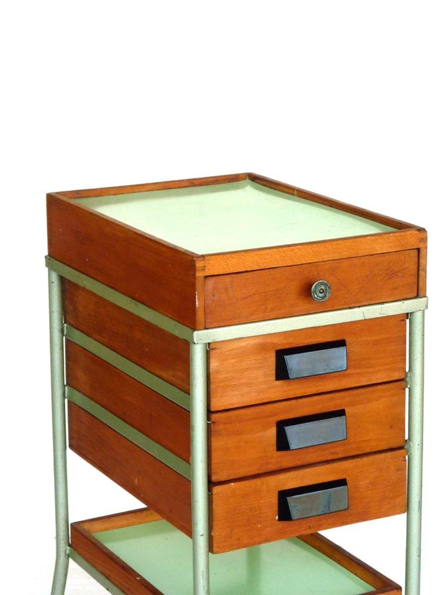 werkstatt schrank mit schubladen 1950er bei pamono kaufen. Black Bedroom Furniture Sets. Home Design Ideas
