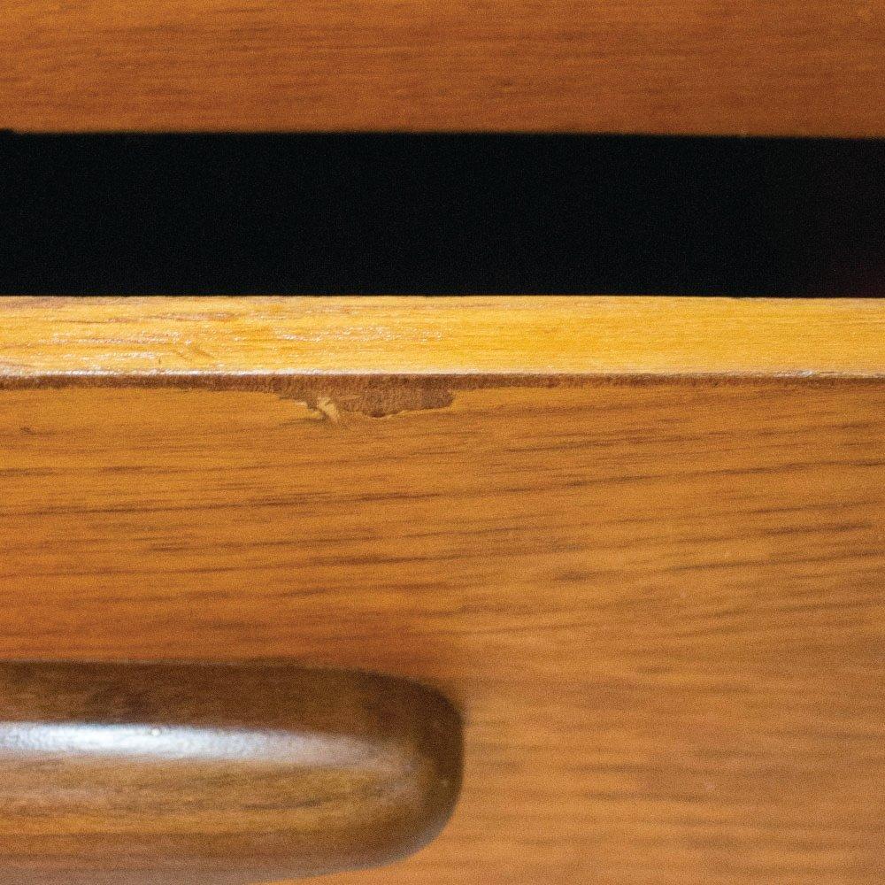 enfilade style danois en teck de jentique 1960s en vente sur pamono. Black Bedroom Furniture Sets. Home Design Ideas