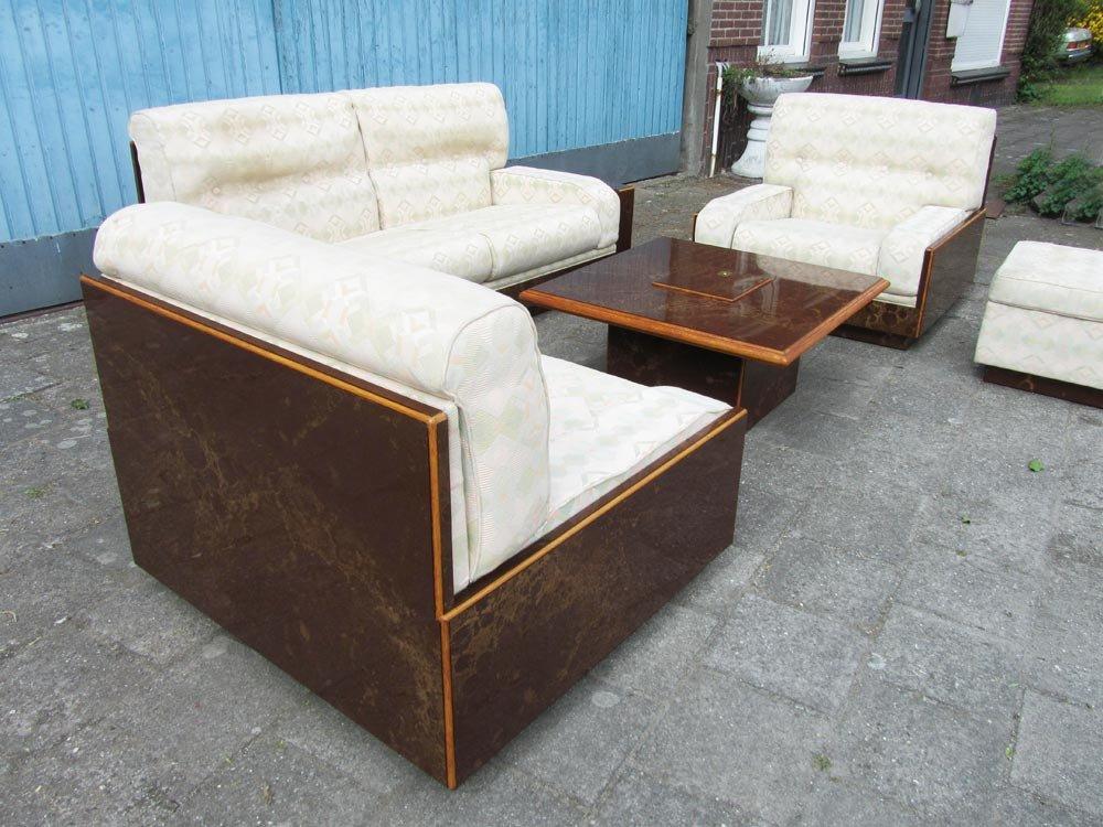 Mobilier de salon et table basse modernistes 1970s en vente sur pamono for Mobilier de salon