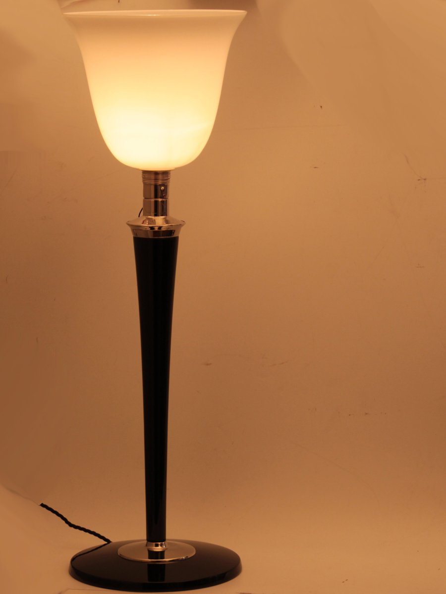 french art deco lampe mazda table lamp from mazda for sale at pamono. Black Bedroom Furniture Sets. Home Design Ideas