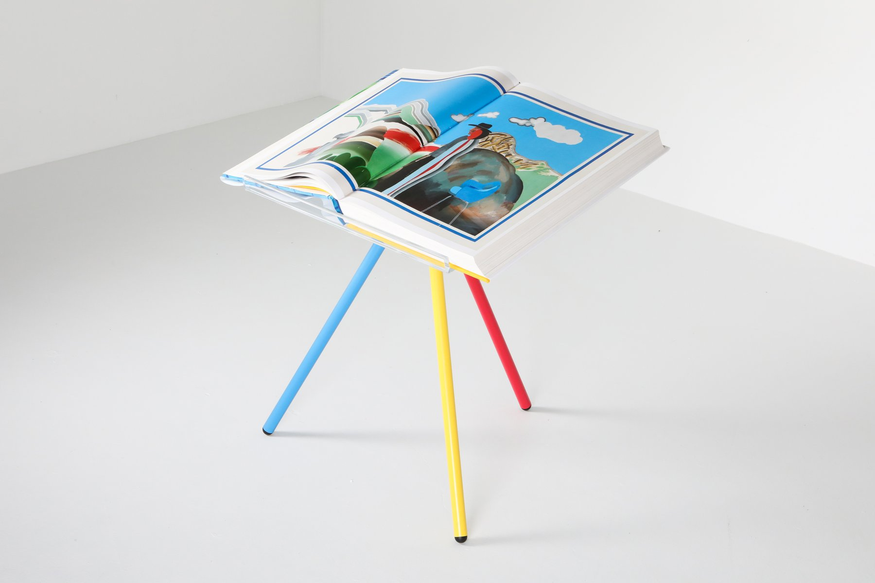 Vintage Sumo Chronology Book And Adjustable Book Stand Set By David Hockney For Sale At Pamono