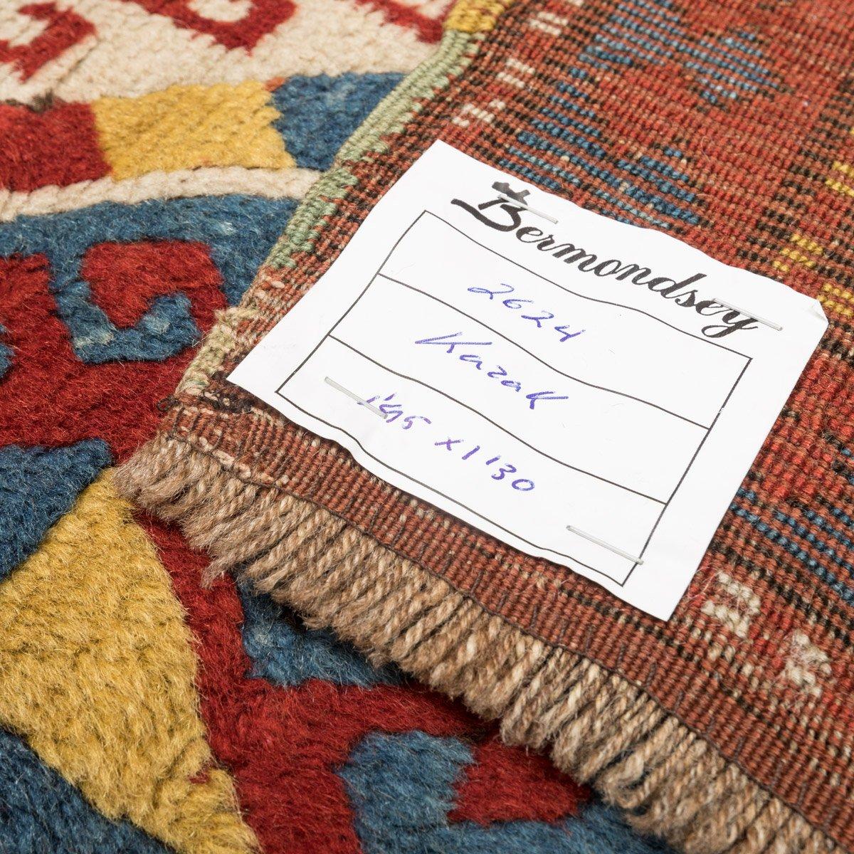 antiker gendge teppich aus wolle mit geometrischem muster 1900er bei pamono kaufen. Black Bedroom Furniture Sets. Home Design Ideas