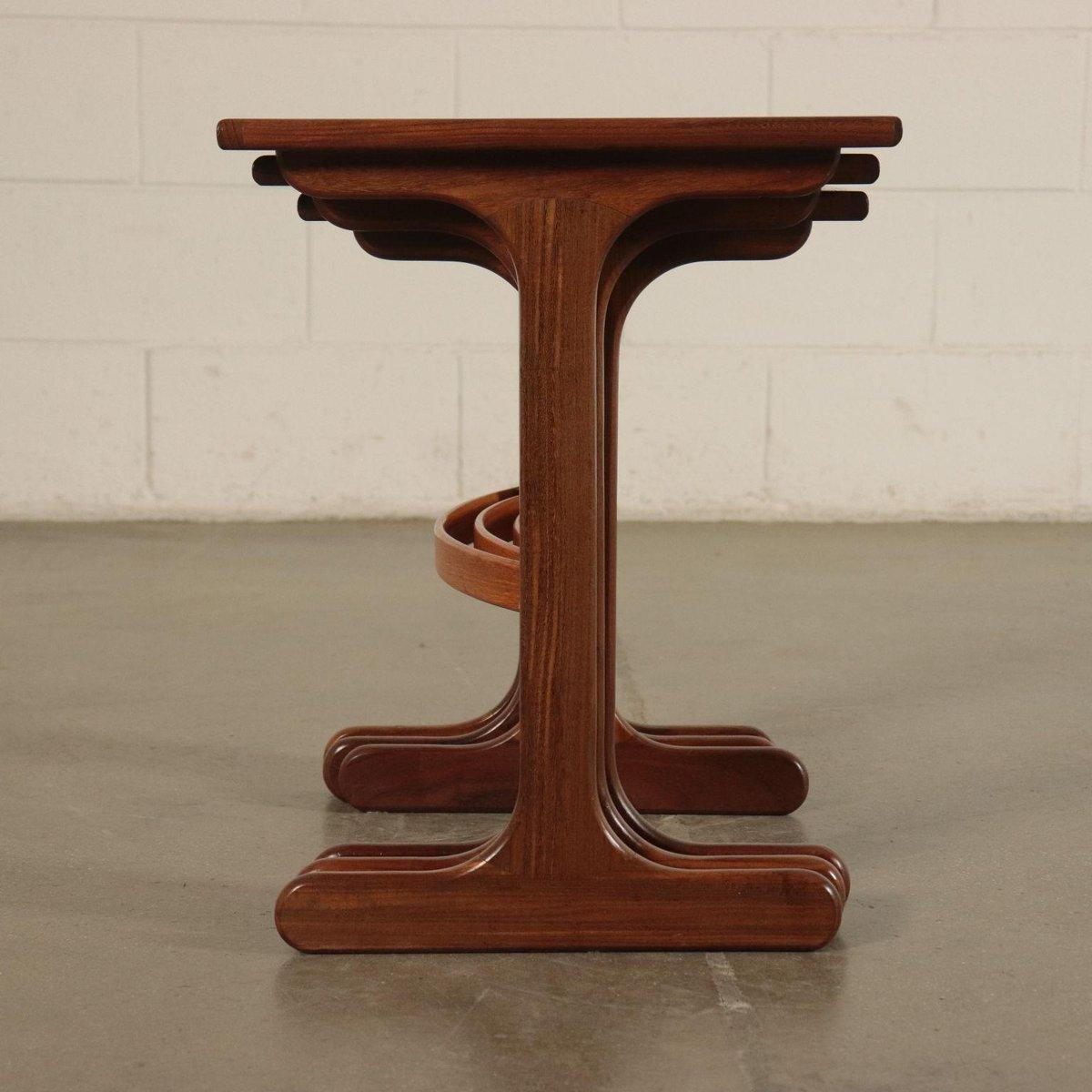 Solid Wood and Teak Veneer Coffee Table from G-Plan, 1960s ...