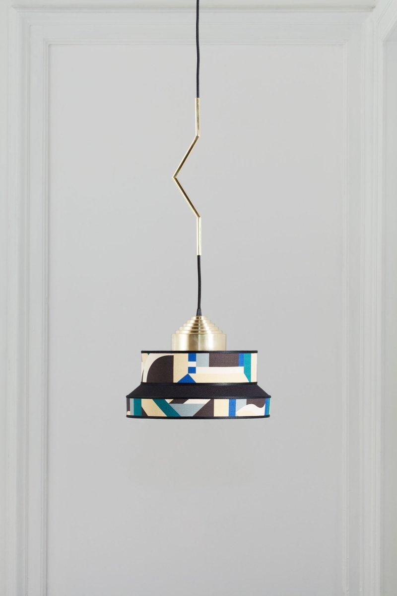 Aperitivo Pendant Lamp in Green by Servomuto