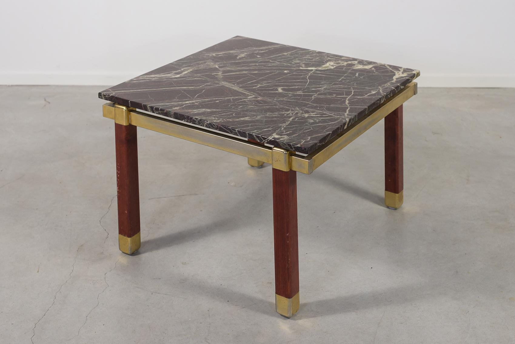 Danish Modern Marble Top Side Coffee Table From Bendixen 1960s For Sale At Pamono [ 1134 x 1699 Pixel ]