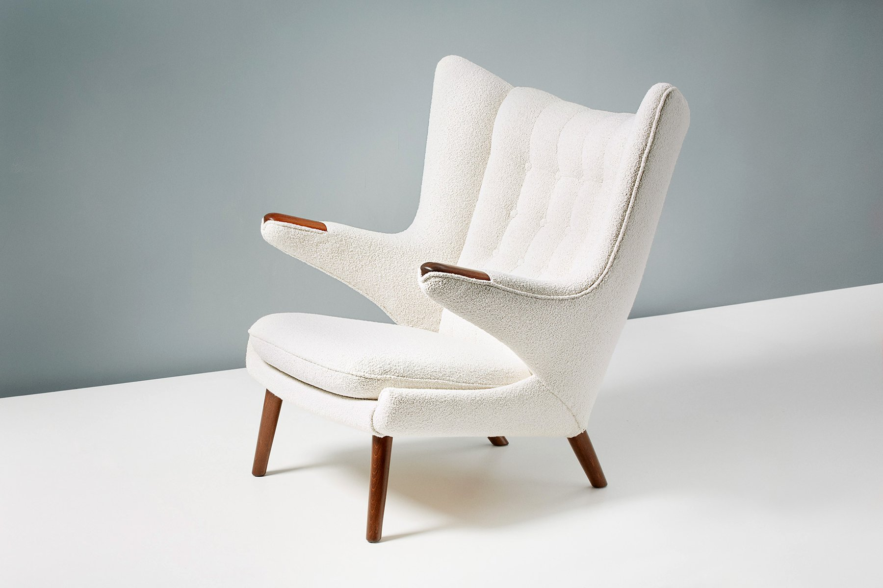 Vintage Papa Bear Armchair by Hans J. Wegner for A.P ...