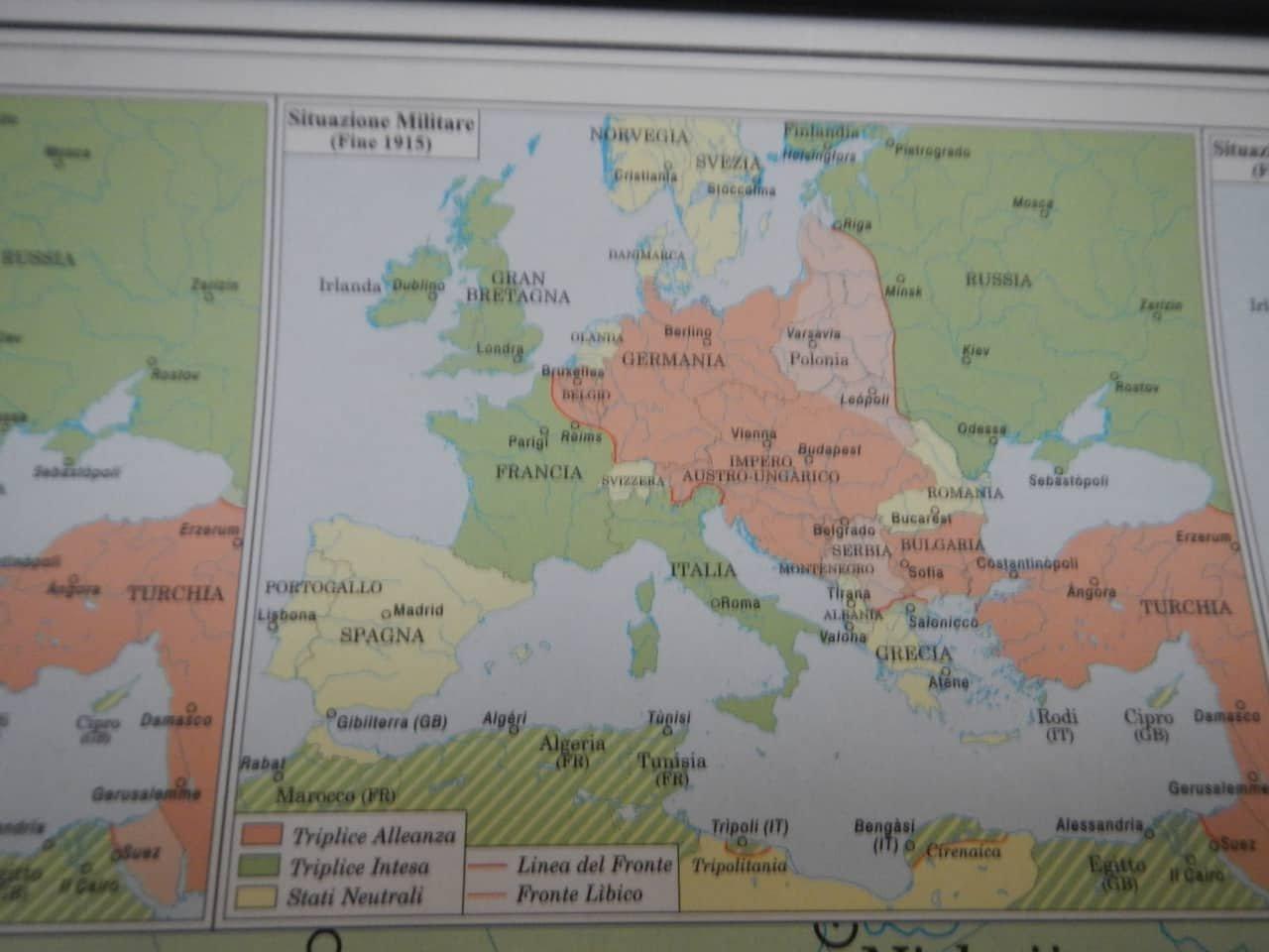 Cartina Geografica Prima Guerra Mondiale.Carta Geografica Della Prima Guerra Mondiale Di Cartografia Belletti Inizio Xxi Secolo In Vendita Su Pamono
