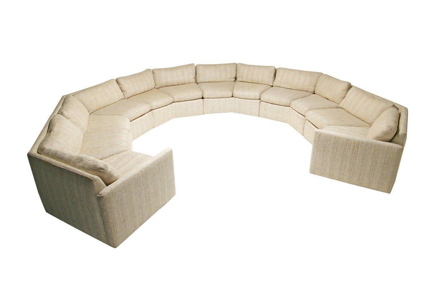 canap modulaire vintage en tweed en vente sur pamono. Black Bedroom Furniture Sets. Home Design Ideas