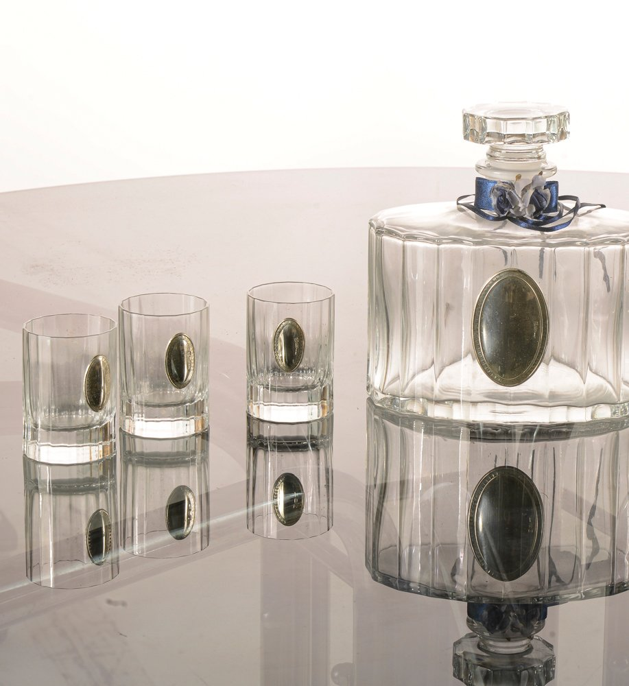 New Silver /& Crystal Small Water Jug 7 Boxed